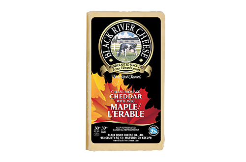 Photo of - BLACK RIVER - Maple Cheddar Cheese