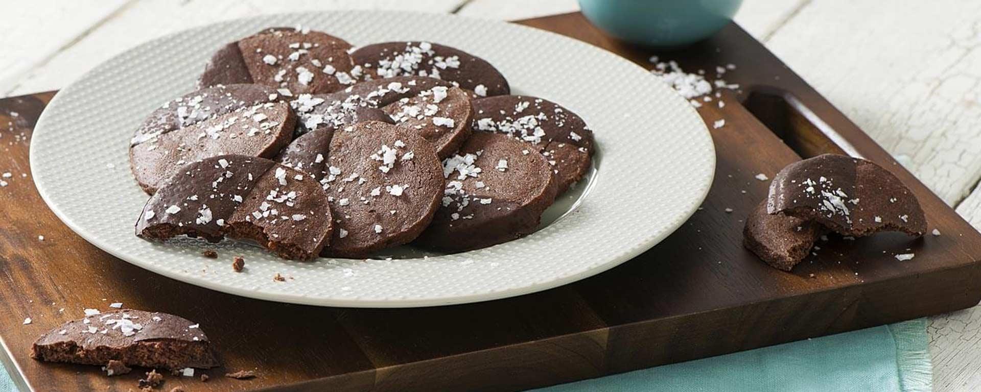 Photo for - Dark Chocolate Espresso Cookies
