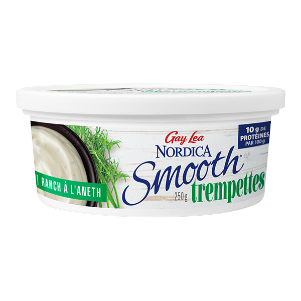 Photo of - Trempettes Nordica Smooth – Ranch à l'aneth