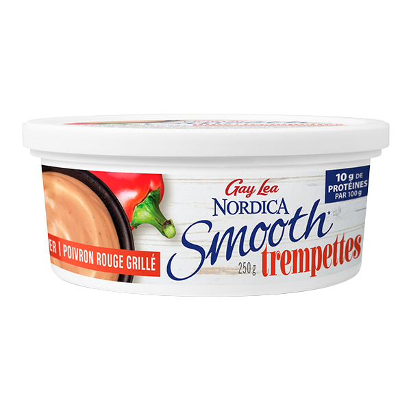 Photo of - Trempettes Nordica Smooth - Poivron rouge rôti