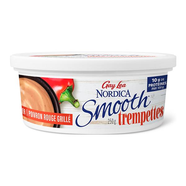 Photo of - Trempettes Nordica Smooth - Poivron rouge rôti