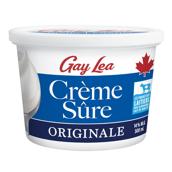 Photo of - GAY LEA - Crème sure - Originale