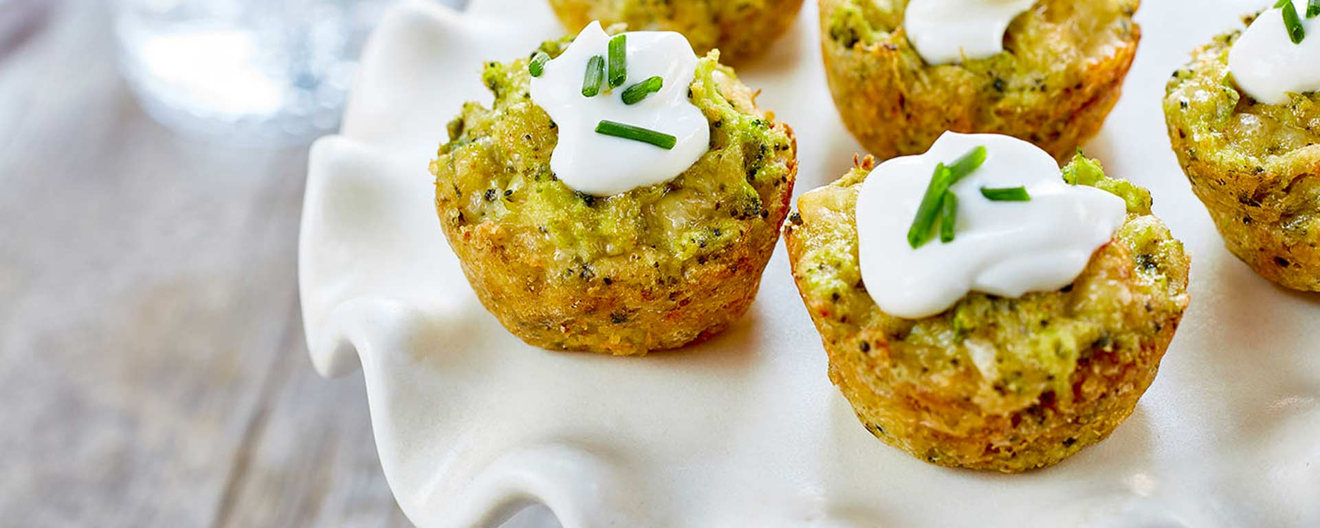 Photo for - Broccoli Cheddar Bites