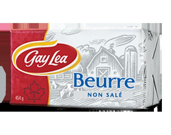 Photo of - GAY LEA - Beurre non salé