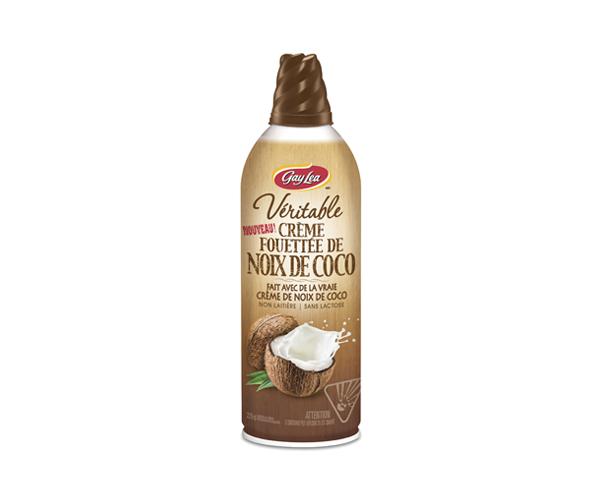 Photo of - Crème fouettée - Noix de coco