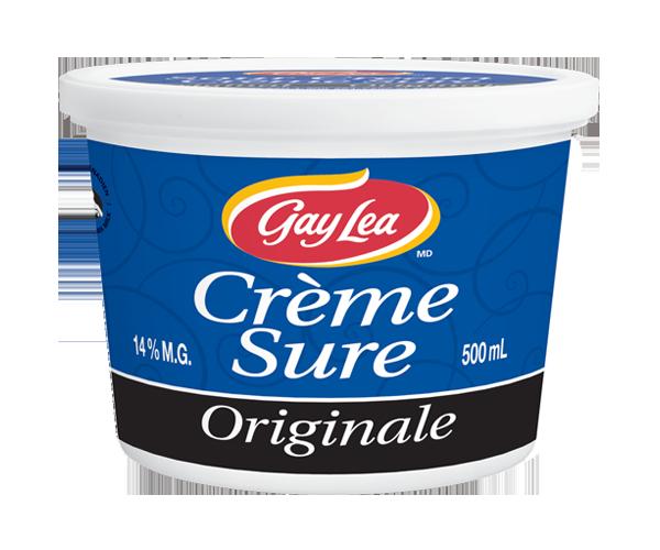 Photo of - GAY LEA - Crème sure - Ordinaire