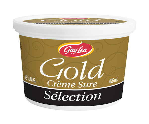 Photo of - Crème sure Gold Premium