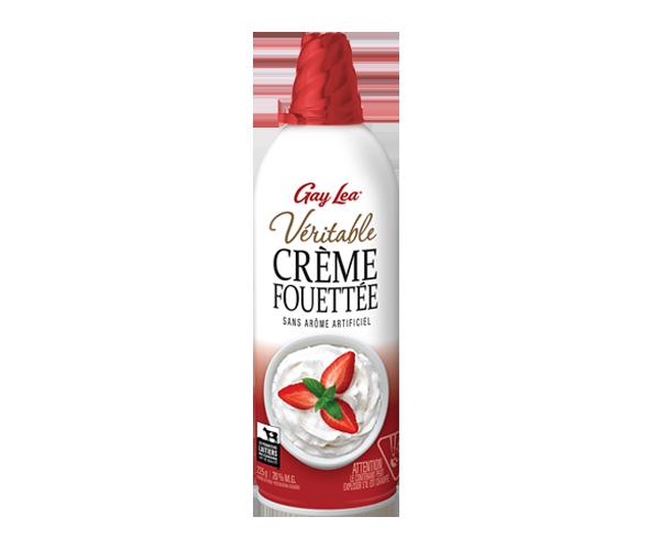 Photo of - Crème fouettée - Ordinaire