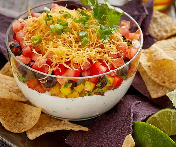 Photo of - Layered Tex Mex Dip