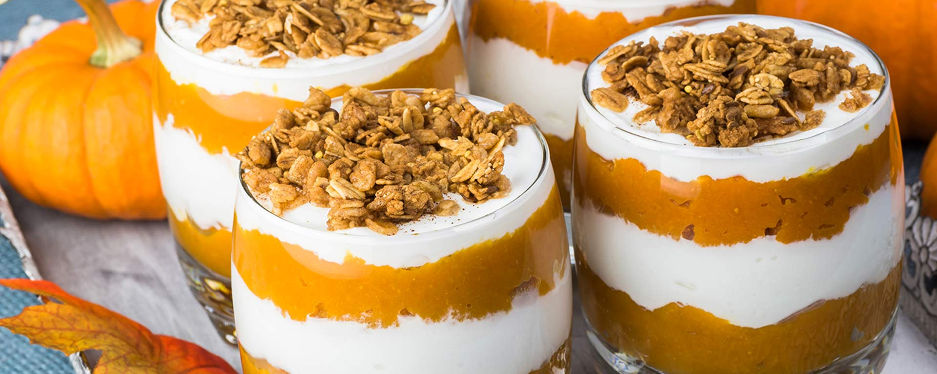 Photo for - Smooth Pumpkin Spice Parfait