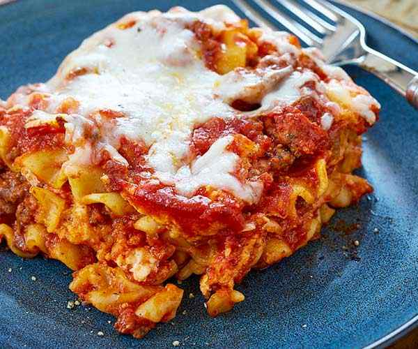 Photo of - Easy Slow Cooker Lasagna