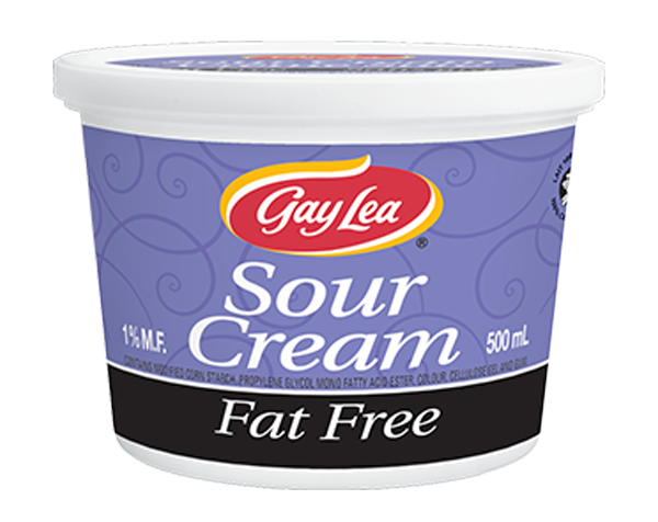 Photo of - GAY LEA - Fat Free Sour Cream