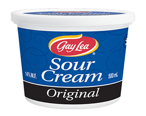 Photo of - GAY LEA - Regular Sour Cream