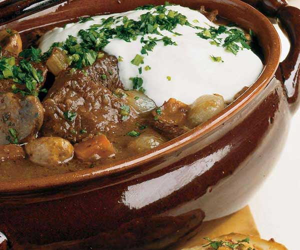 Photo of - Bistro Beef and Mushroom Stew