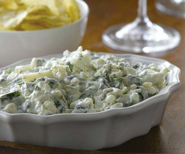 Photo of - Canadian Blue Cheese and Spinach Dip