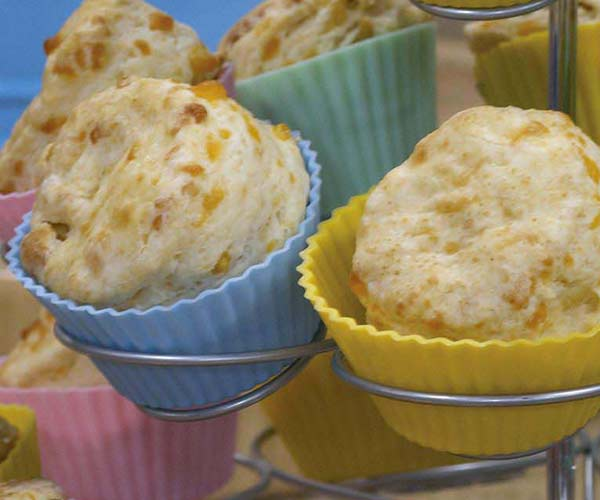 Photo of - Cheddar and Apple Buttermilk Scones