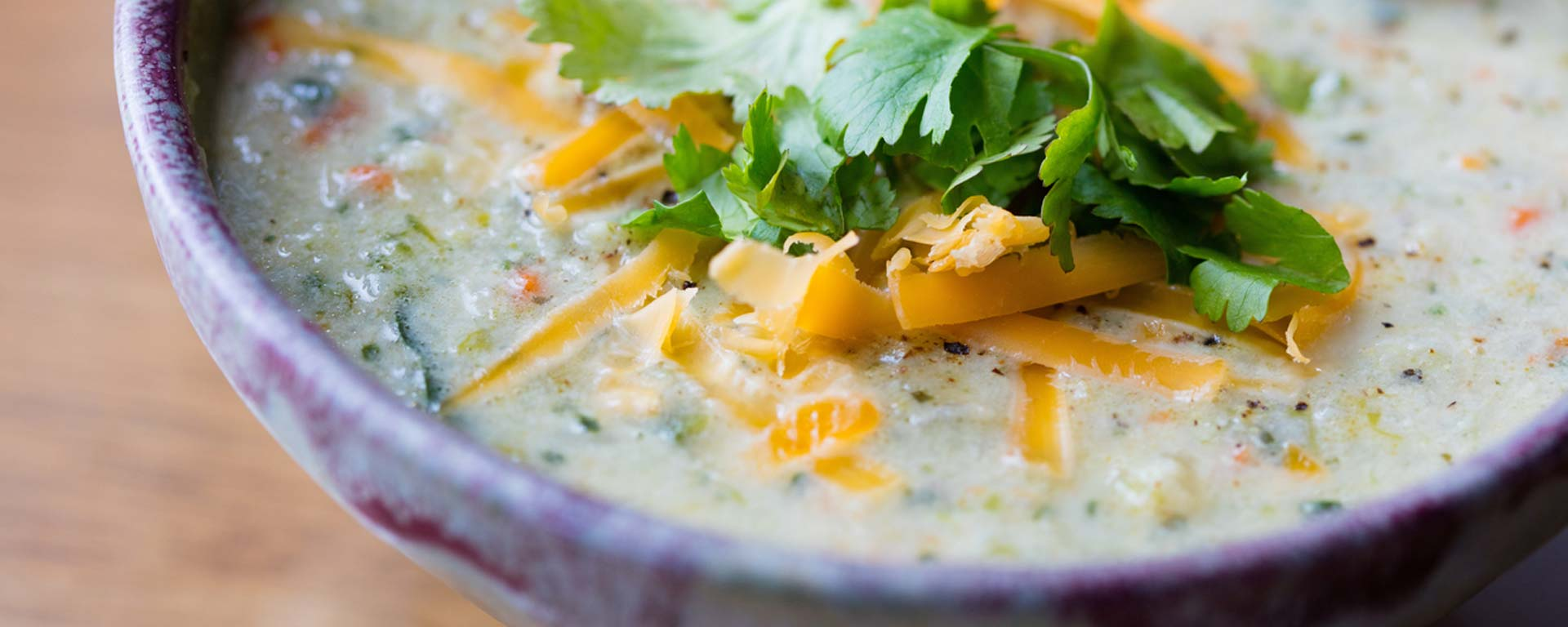 Photo for - Cheddar Vegetable Chowder