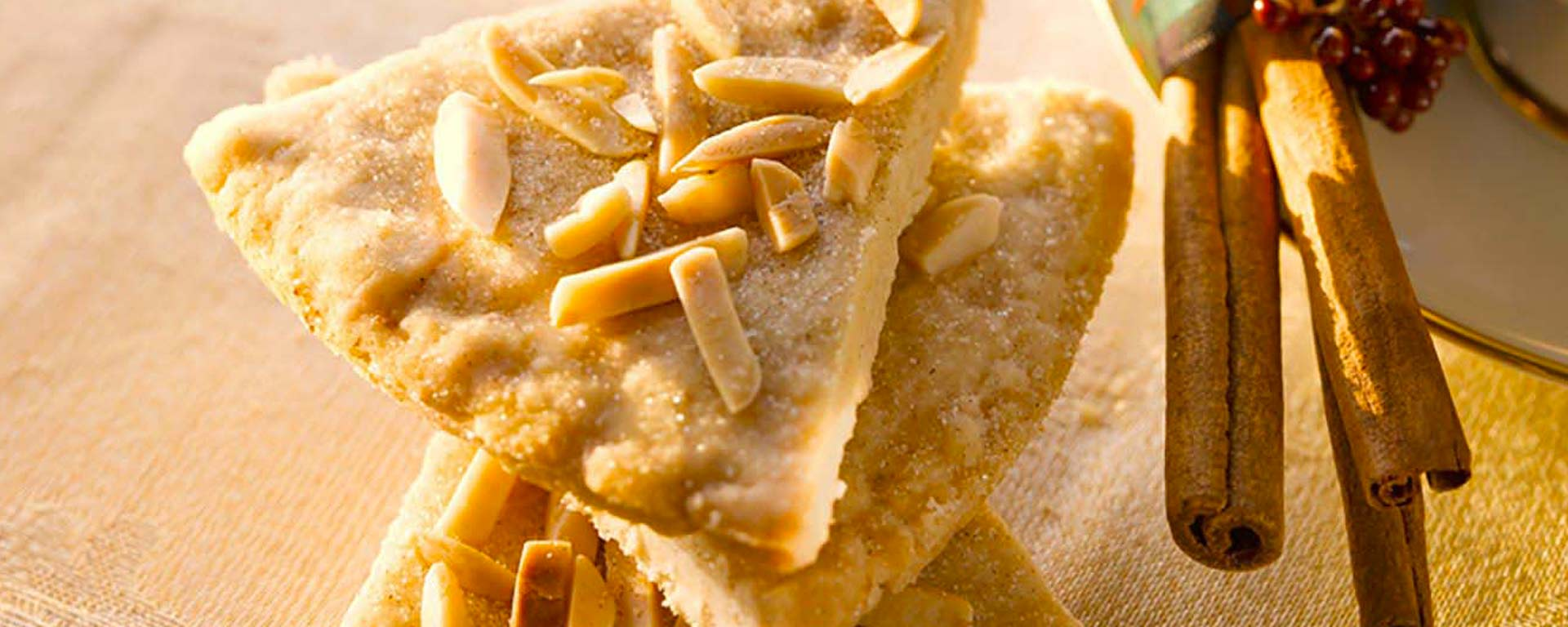 Photo for - Cinnamon Almond Shortbread