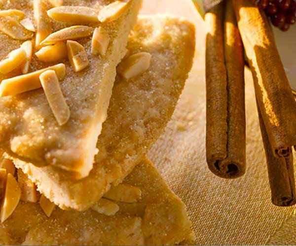 Photo of - Cinnamon Almond Shortbread