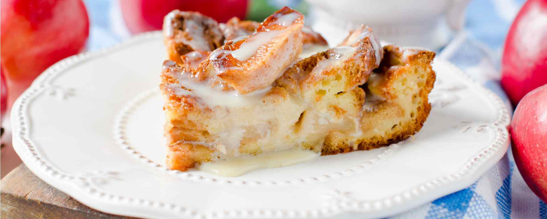 Photo for - Cinnamon Apple Strata