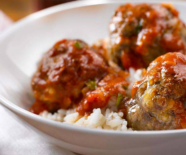 Photo of - Boulettes de viande marinara au fromage cottage