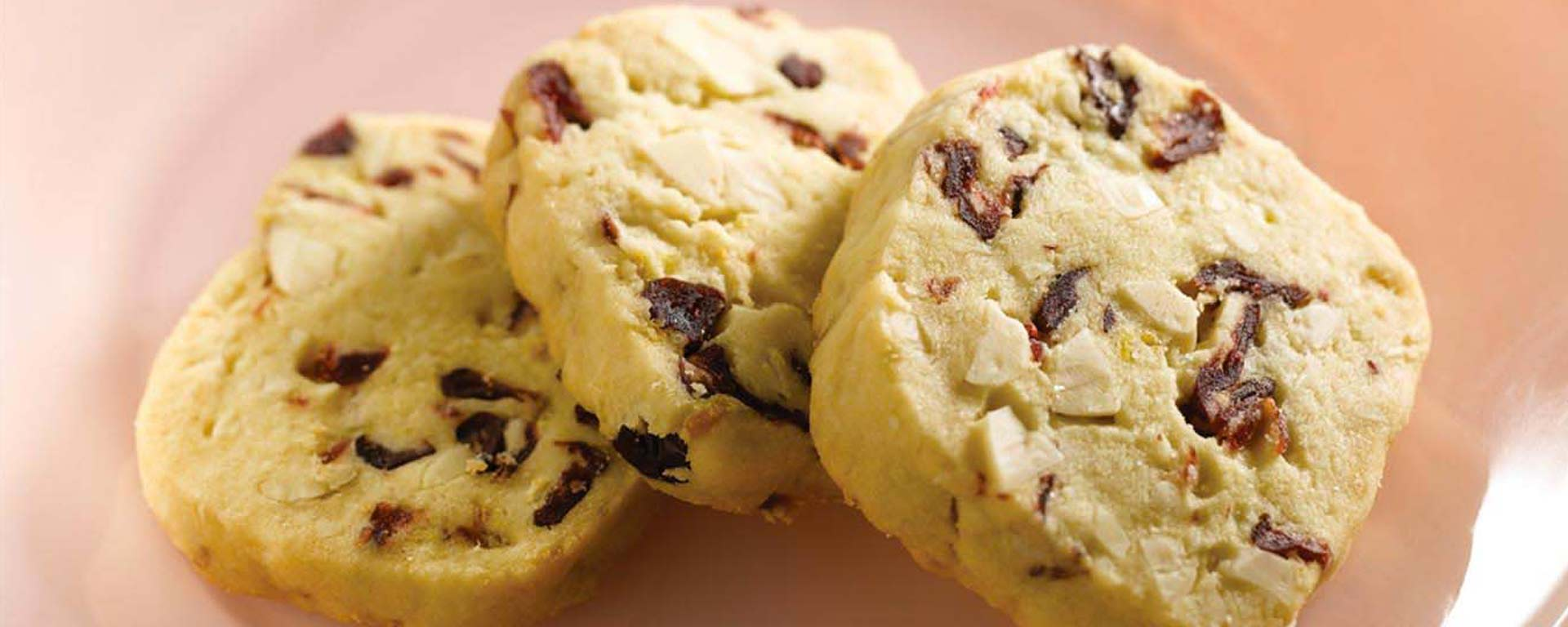 Photo for - Cranberry Almond Shortbread Cookies
