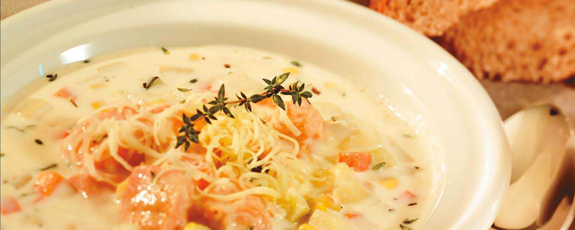 Photo for - Delicious Salmon Vegetable Chowder