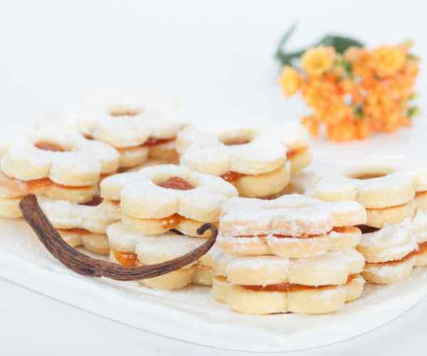 Photo of - Festive Orange Dream Bars