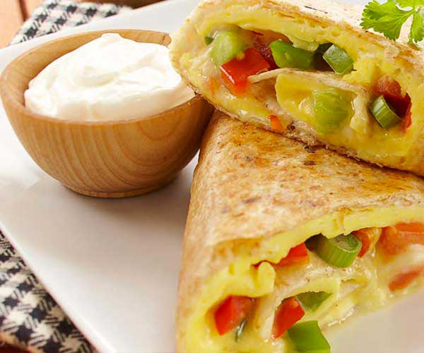 Photo of - Tex Mex Breakfast Roll-Ups