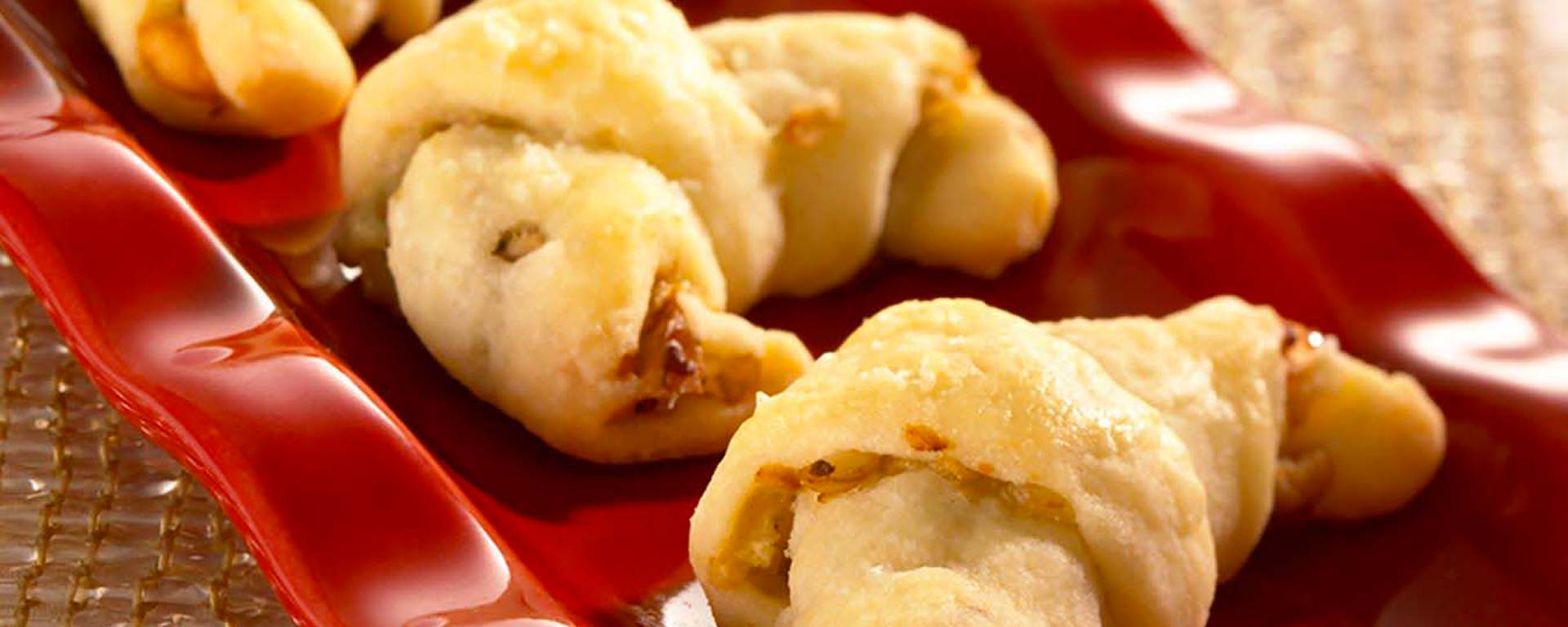 Photo for - Blue Cheese and Pear Crescents