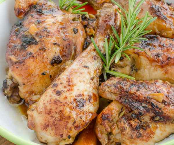Photo of - Honey Thyme Butter-Glazed Chicken