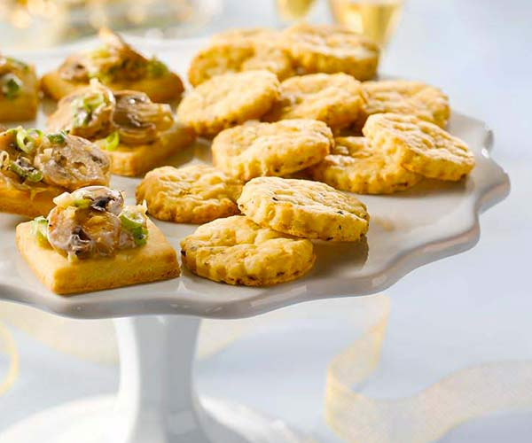 Photo of - Jalapeño Cheese Shortbread