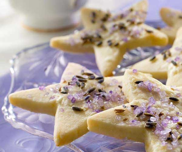 Photo of - Lemon Lavender Shortbread
