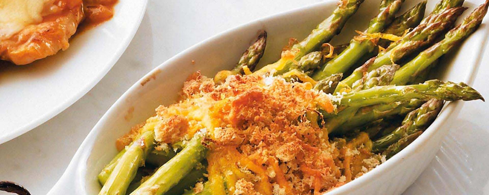 Photo for - Lemon-Roasted Asparagus Gratin