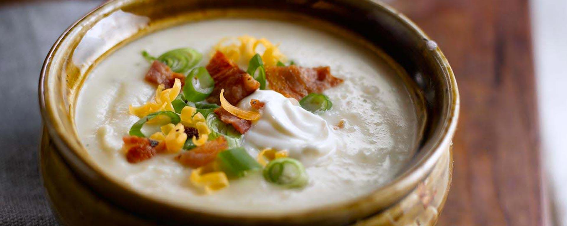 Photo for - Soupe aux pommes de terre