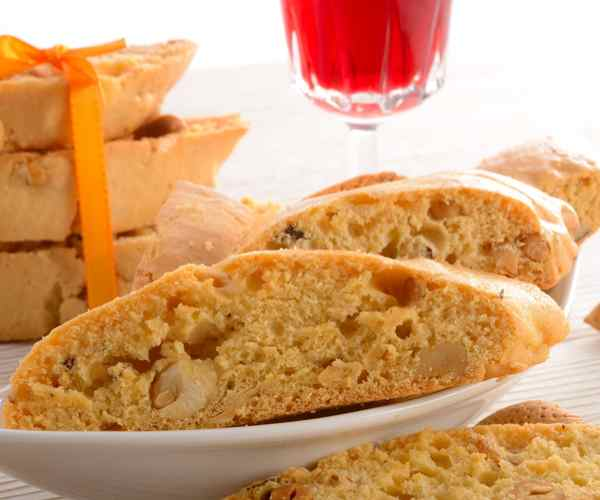 Photo of - Maple Butter Walnut Biscotti