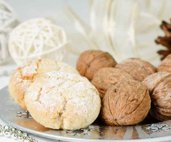 Photo of - Maple Walnut Shortbread