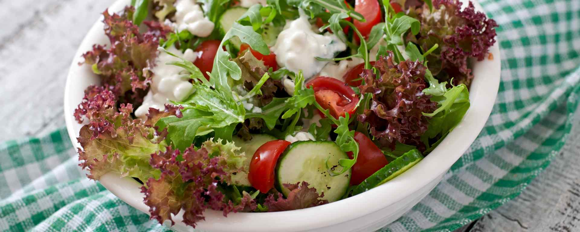 Photo for - Mediterranean Cottage Cheese Salad Topper