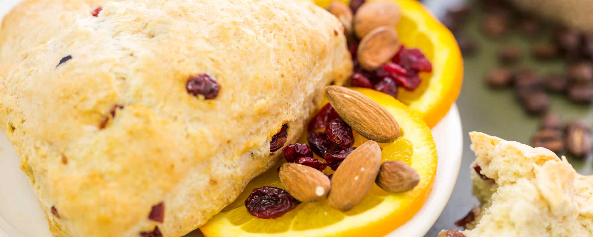 Photo for - Orange and Cranberry Scone Shortbread