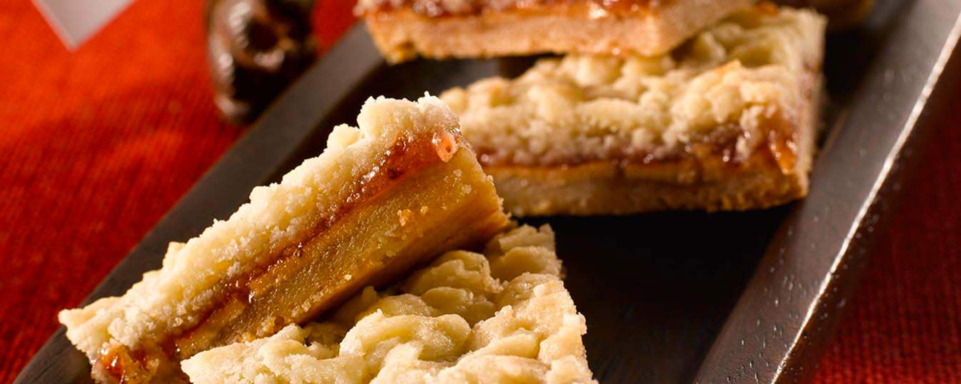 Photo for - Peanut Butter and Jelly Shortbread Bars