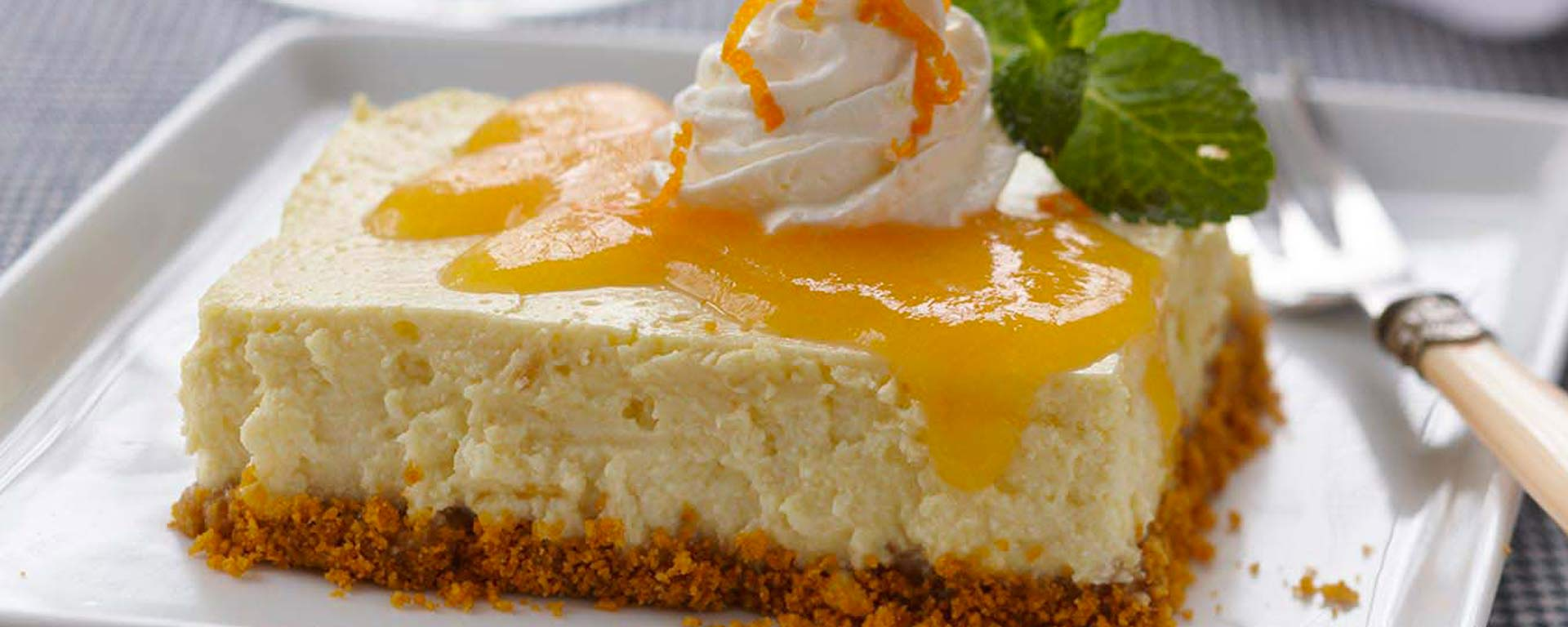 Photo for - Peach Ginger Cheesecake Bars
