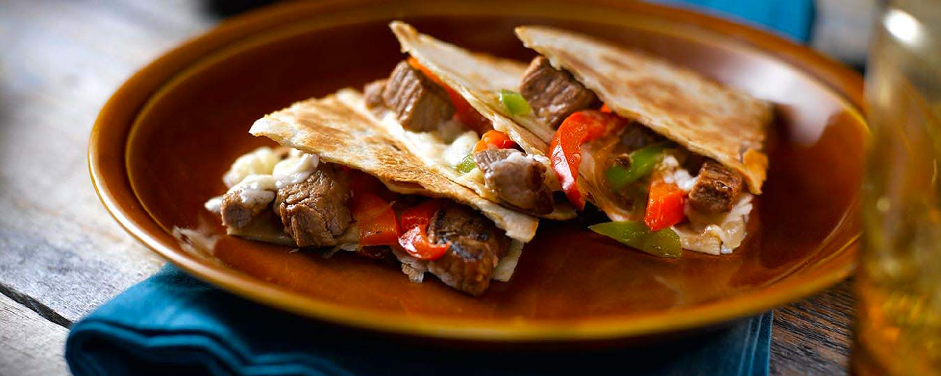 Photo for - Prairie Cheesesteak Quesadillas