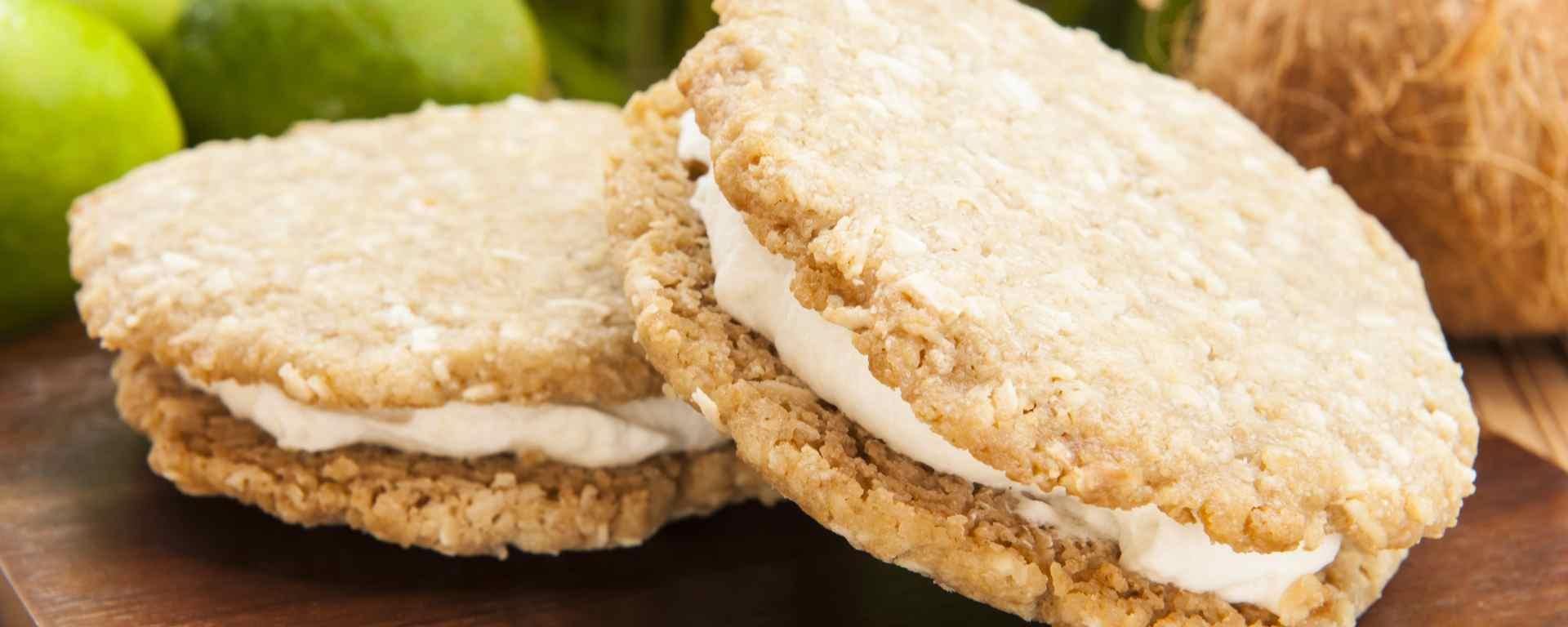 Photo for - Biscuits- sandwiches à la tarte aux pommes