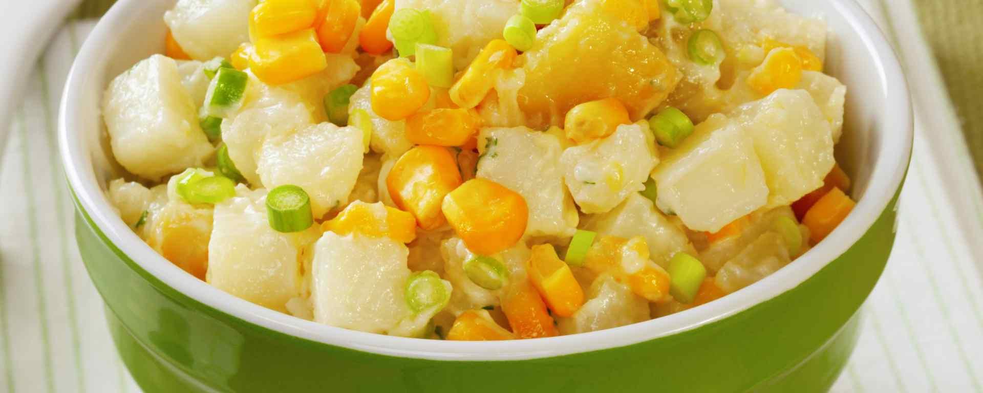 Photo for - Poêlée de maïs et de pommes de terre
