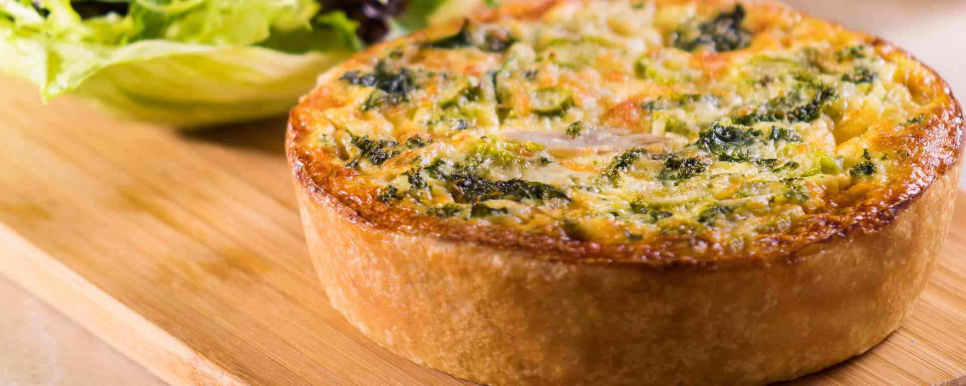 Photo for - Smoked Chicken and Asparagus Quiche