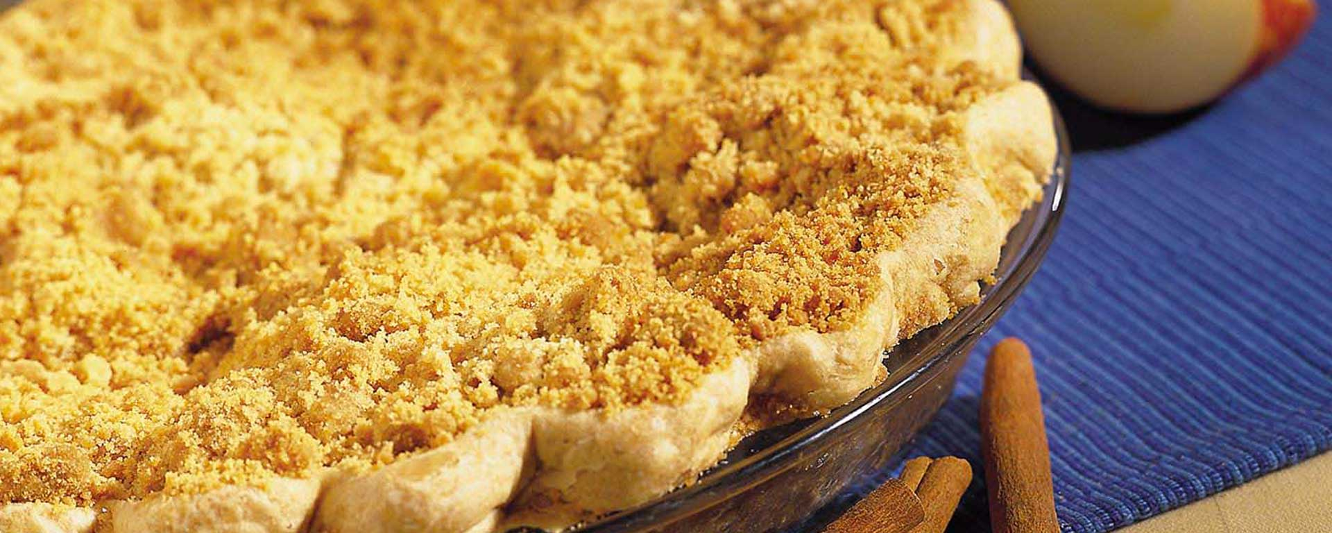 Photo for - Sour Cream Apple Pie