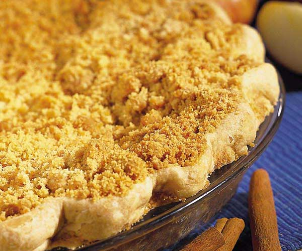 Photo of - Sour Cream Apple Pie