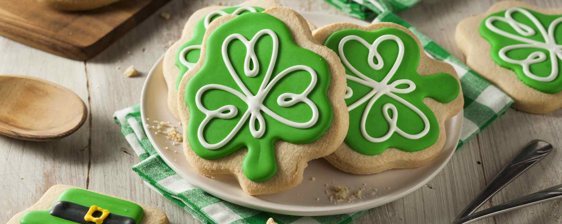 Photo for - St. Patrick's Day Cookies