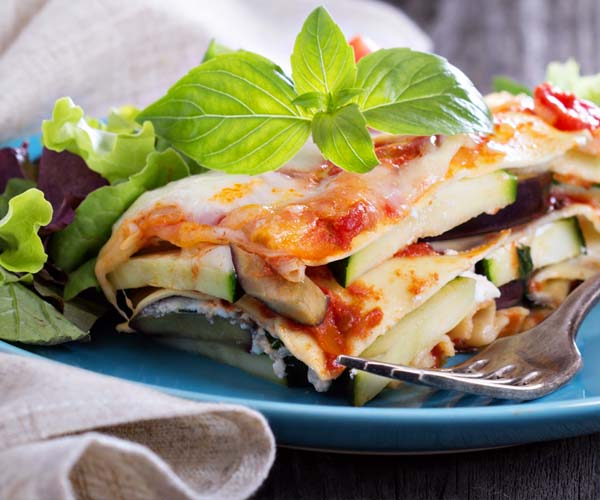 Photo of - Vegetable Lasagna Swirls