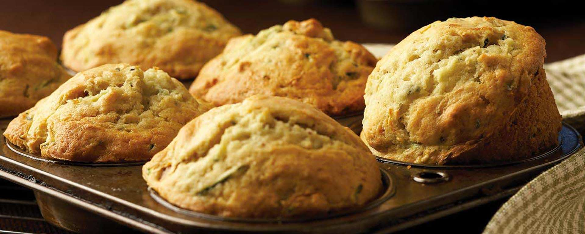 Photo for - Muffins aux courgettes